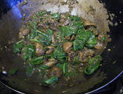mushrooms with cumin and coriander