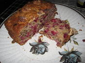 Cranberry and Walnut cake.