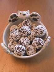 Chocolate oatmeal balls