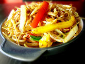 Singapore Noodles - quick and easy